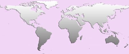 planisphere: planisfero Vettoriali