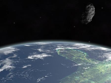 yucatan: Asteroid on Yucatan