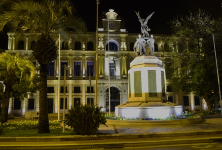 vacance: town hall in Cannes