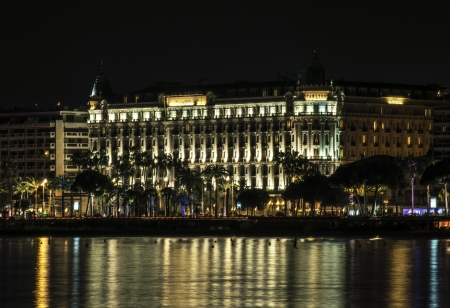 holiday movies: Hotel Carlton Cannes Editorial