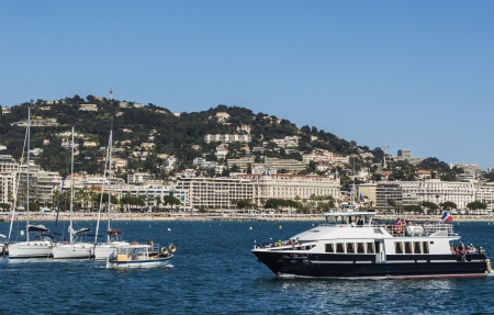 vacance: city of Cannes