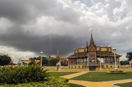king palace: King palace Cambodia