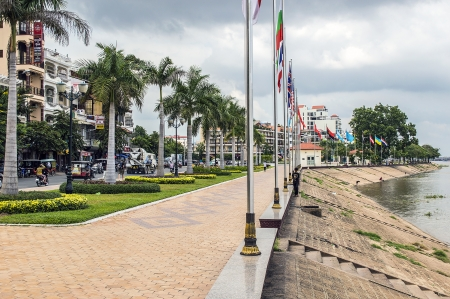 Phnom Penh riverside