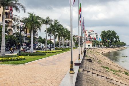 penh: Phnom Penh riverside