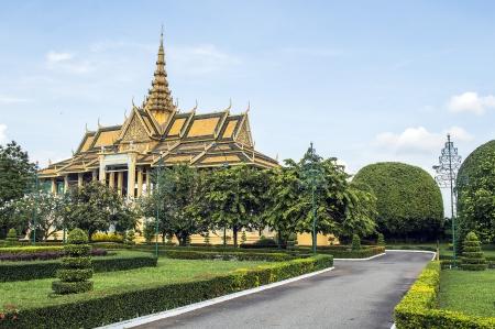 king palace: king palace phnom penh Stock Photo