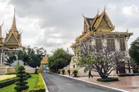 king palace: King palace phnom penh cambodia Editorial