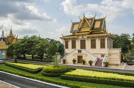 king palace: King palace phnom penh cambodia Stock Photo