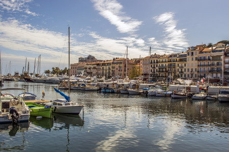 Harbor in Cannes Éditoriale
