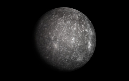 Mercury planet Vector