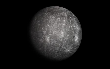 Mercury planet Vectores