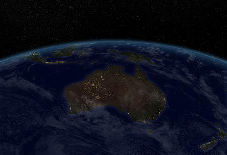 city lights: City lights - Australia