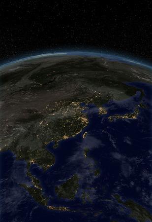 city lights: City lights - Asia