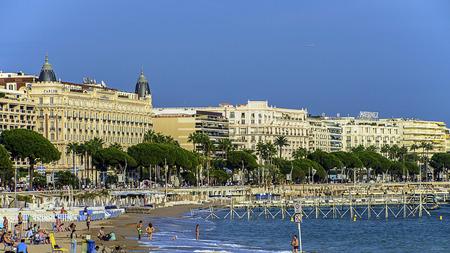 vacance: Spiaggia Cannes e dalla famosa Croisette