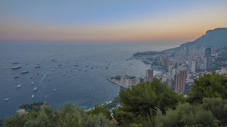 Sunset in Monte Carlo Monaco photo