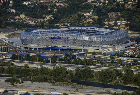 french riviera: Allianz Riviera the new stadium of OGC Nice