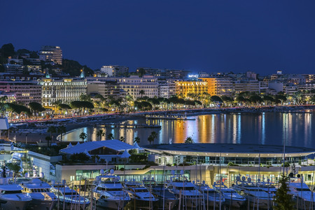 Cannes twilight
