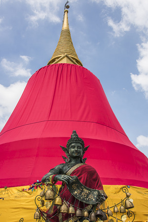 Wat Saket on the Golden Mountain Bangkok Thailand photo
