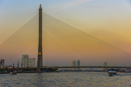 rama: Rama 8 bridge in Bangkok