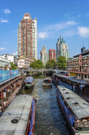 klong: Klong in Bangkok Pratunam