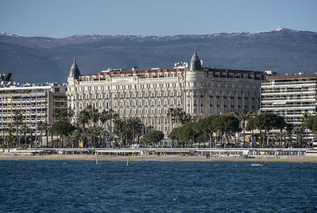 Hotel Carlton viewed from the sea