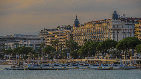 Hotel Carlton Cannes Stock Photo