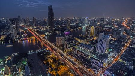 phraya: Chao Phraya river in Bangkok
