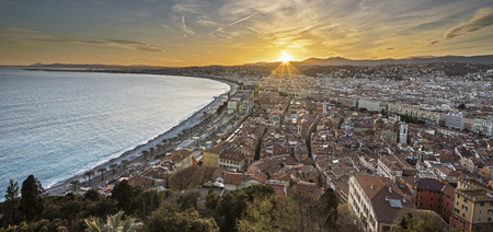 City of Nice panorama