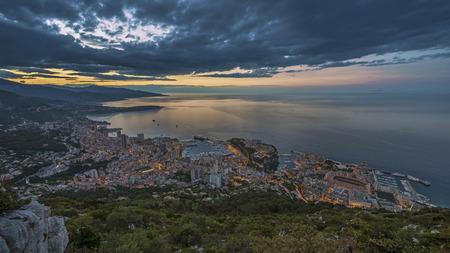 Monaco sunrise