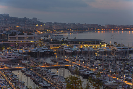 Cannes sunrise photo