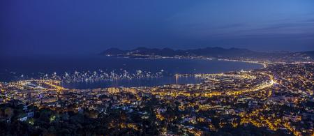 citylight: Cannes citylight in summer