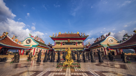 Chinese temple in Pattaya