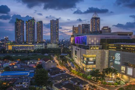 Jakarta city downtown