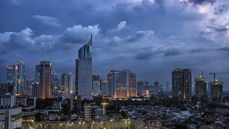 jakarta: Jakarta city panorama