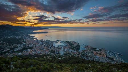 carlo: Sunrise in Monaco Monte Carlo
