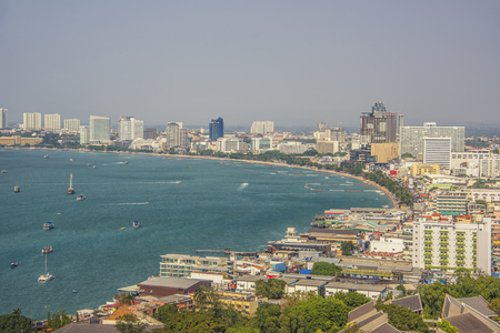 pattaya: Pattaya city daytime Stock Photo