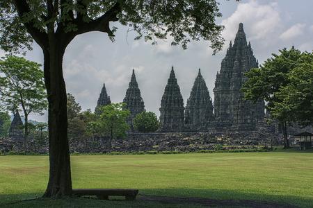 prambanan: Prambanan temple in Java