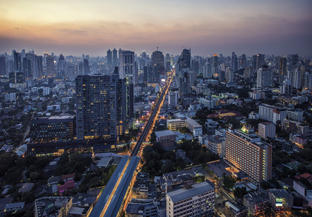 Sukhumvit district in Bangkok