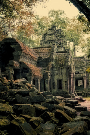 Angkor temple in Cambodia Stock Photo