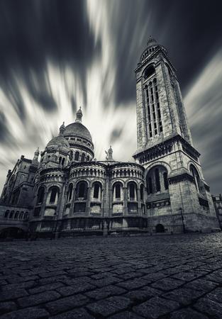 Sacre Coeur basilica in Montmartre Paris