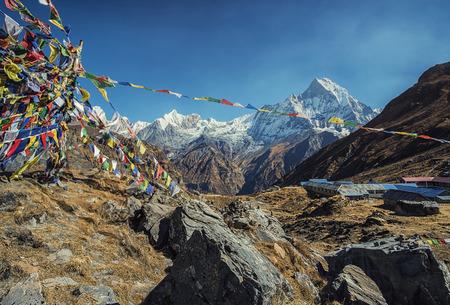 Annapurna base camp in Nepal