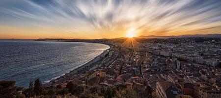City of Nice Standard-Bild