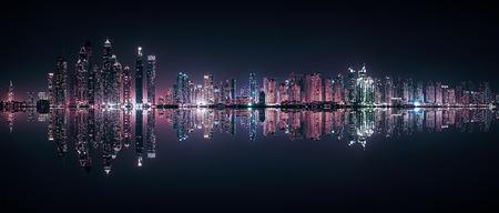 Dubai Marina reflection