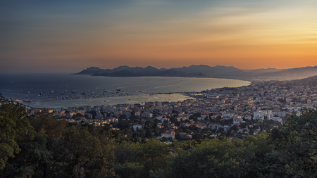 Cannes on the French Riviera Stock Photo