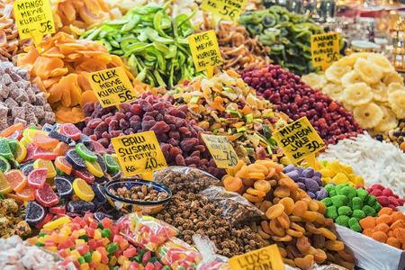 Grand Bazzar, 이스탄불의 말린 과일 가게