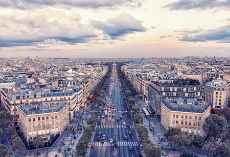 Champs-Elysee avenue in Paris Stock fotó