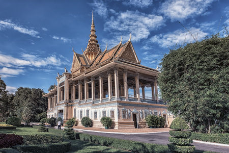 King Palace in Phnom Penh, Cambodia Editorial