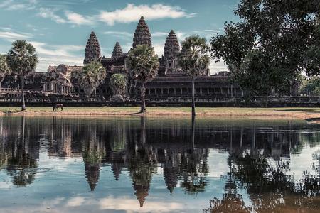 Angkor wat in Siem Reap, Cambodja