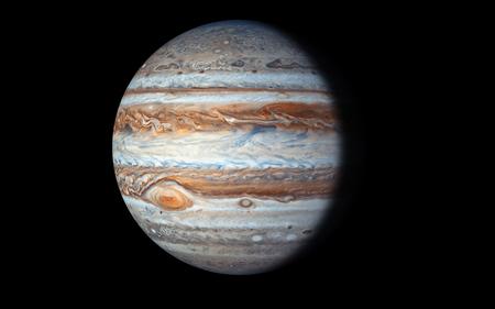 Planeta Júpiter, elementos de esta imagen de la NASA Foto de archivo