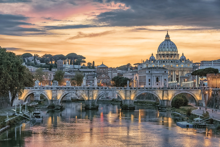 St Peters Basilica in Rome Editorial
