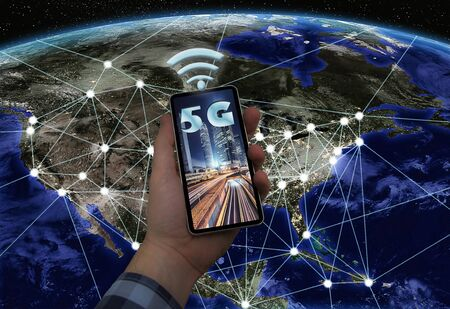 Connected cities to 5G technology